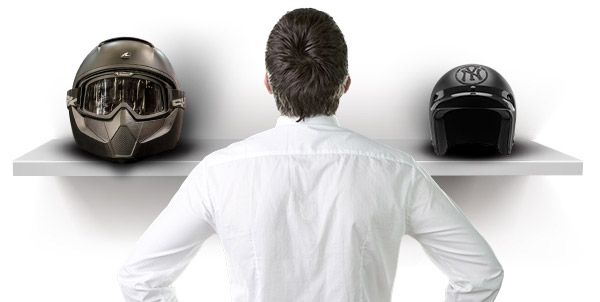 Choose the Size of Your Motorcycle Helmet