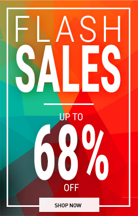 Flash sales up to  -68%