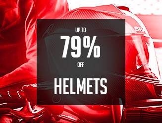 Up to 79% off helmets