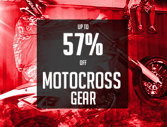 Up to 57% off Dirt Bike and MX Gear