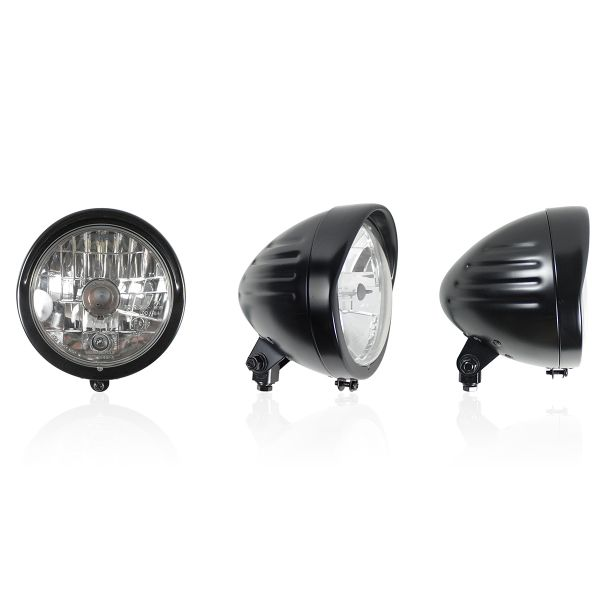 Motorcycle Lights and Headlights Chaft Combo Black