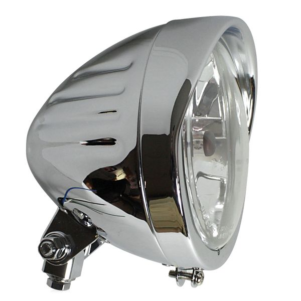 Motorcycle Lights and Headlights Chaft Combo Chrome