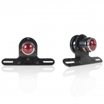 Motorcycle Lights and Headlights Chaft Cyclope Red