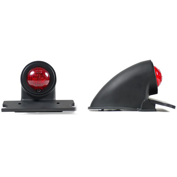 Motorcycle Lights and Headlights Chaft Sparto Red
