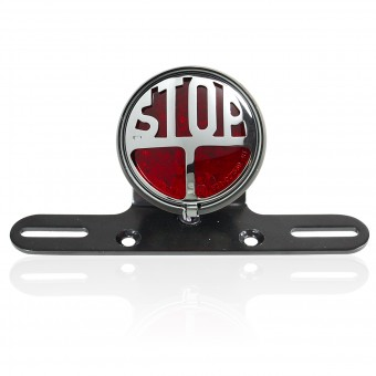 Motorcycle Lights and Headlights Chaft Stop Red