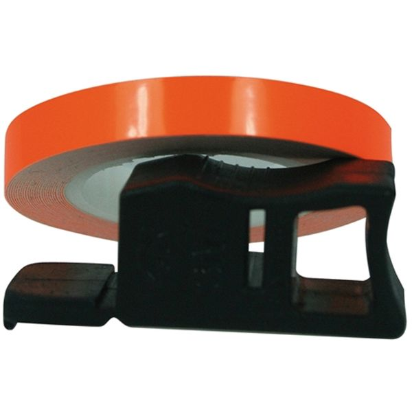 Stickers Chaft Wheel Strip Rim Tape Fluoro Orange