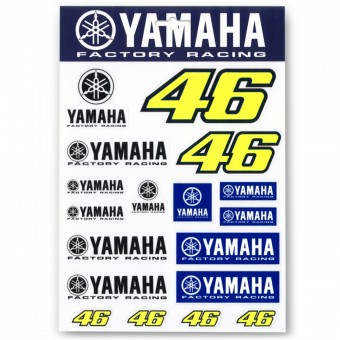 Stickers VR 46 Stickers Yamaha VR46