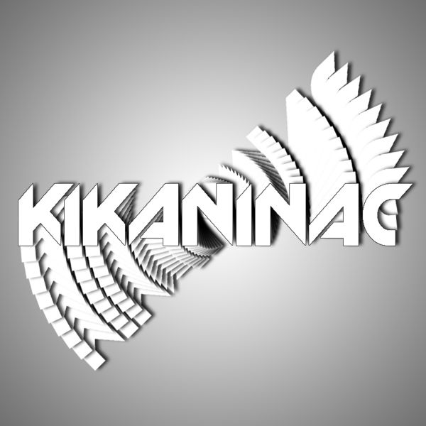 Stickers Kikaninac Pack of 5 Stickers Kikaninac 10x2cm White