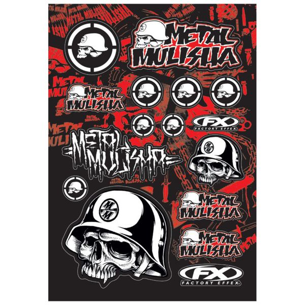 Stickers FX Metal Mulisha 2