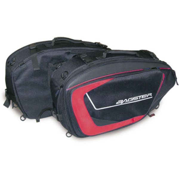 Saddlebags Bagster Cruise Black Red