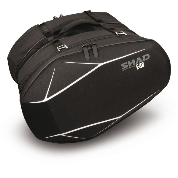 Saddlebags Shad E-48 Black