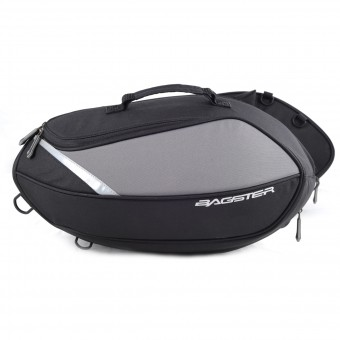 Saddlebags Bagster Escape Black Grise