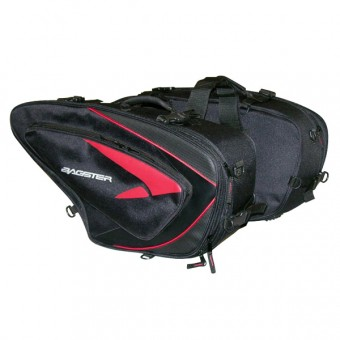 Saddlebags Bagster Sprint Black Red