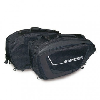 Saddlebags Bagster Cruise Black Charcoal
