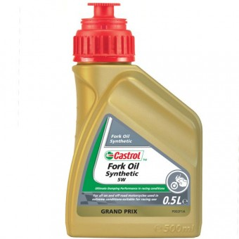 Fork Oil Castrol Synthetic Fork Oil 5W 500 Ml