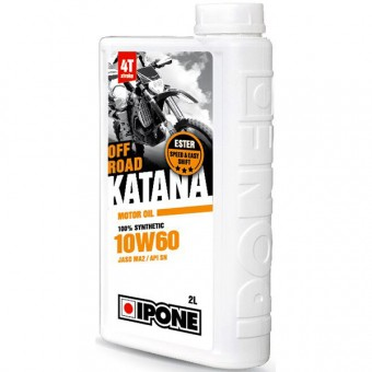 Motorcycle Oil IPONE Katana Off Road - 10W60 100 % Synthetic - 2 Litre 4T