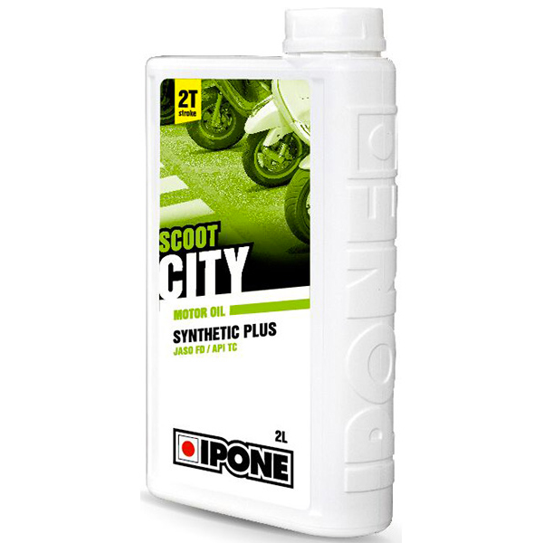 Motorcycle Oil IPONE Scoot City - Synthetic Plus - 2 Litre 2T