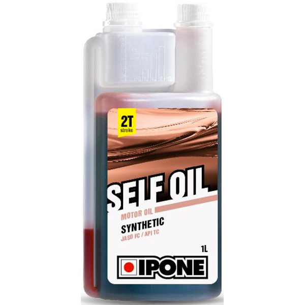 Motorcycle Oil IPONE Selfoil - Synthetic - 1 Litre 2T Doseur