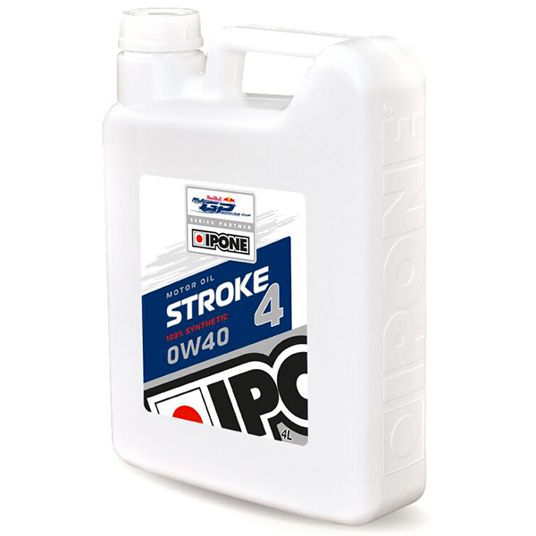 Motorcycle Oil IPONE Stroke 4 - 0W40 100 % Synthetic - 4 Litre 4T