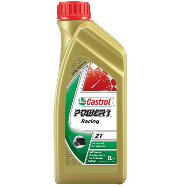 Motorcycle Oil Castrol Power 1 Racing 2T 1 Liter