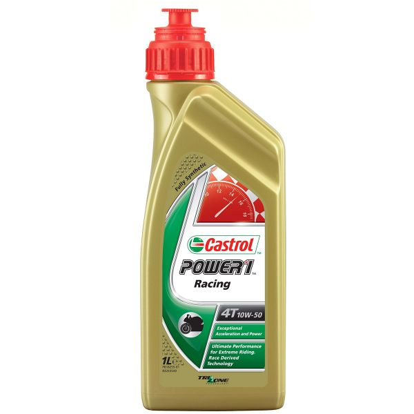 Motorcycle Oil Castrol Power 1 Racing 4T 10W-40 1 Liter