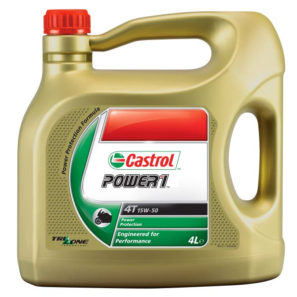 Motorcycle Oil Castrol Power 1 4T 15W-50 4 Liters