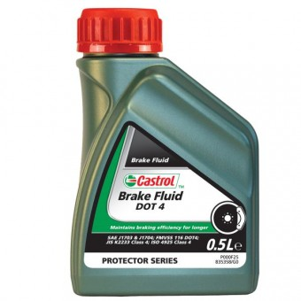 Brake Fluid Castrol Brake Fluid DOT 4 500 Ml