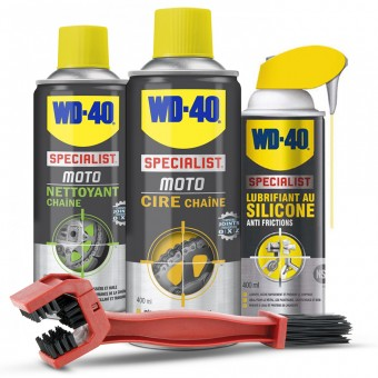 Cleaning and Maintenance WD-40 Chain Maintenance Kit