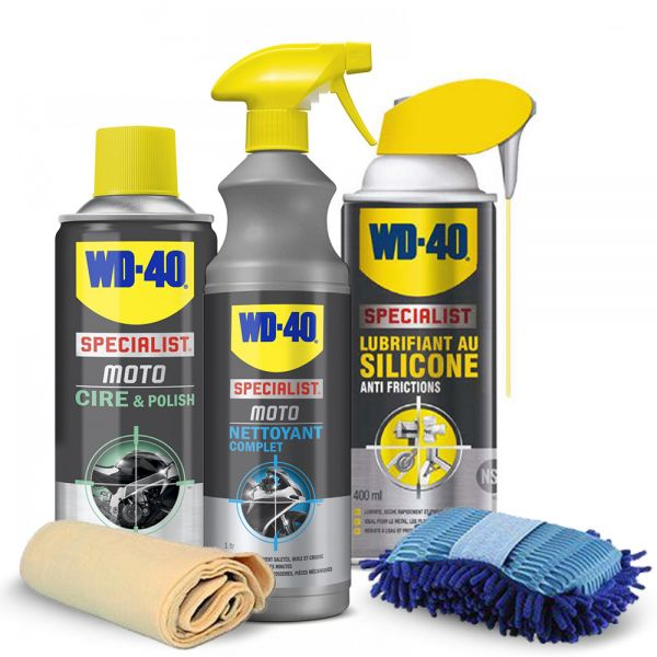 Cleaning and Maintenance WD-40 Motorbike Maintenance Kit