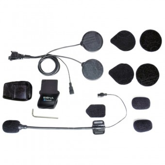 Intercom Systems Sena SMH5 Helmet Mount Kit With Accessories
