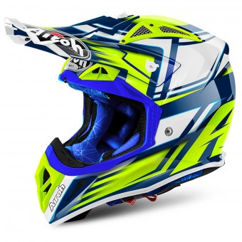 Casque Motocross Airoh Aviator 2.2 Restyle Yellow