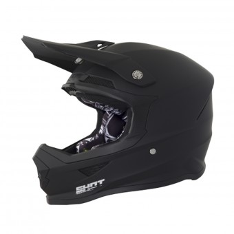 Casque Motocross SHOT Furious Matt Black