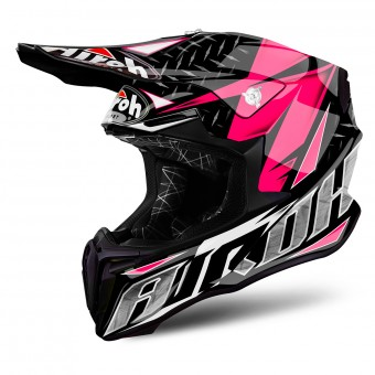 Casque Motocross Airoh Twist Iron Pink