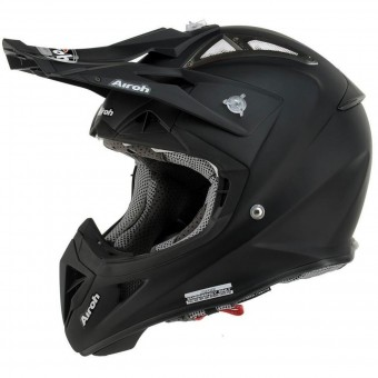 Casque Motocross Airoh Aviator 2.2 Black Matt
