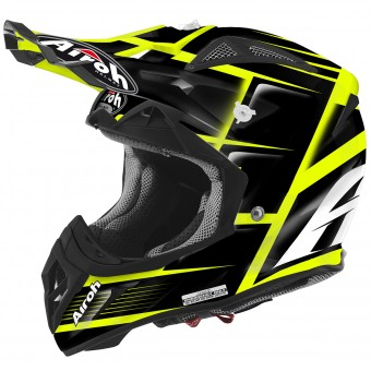 Casque Motocross Airoh Aviator 2.2 Reflex Black