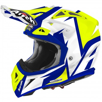 Casque Motocross Airoh Aviator 2.2 Steady Yellow