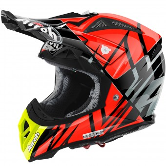 Casque Motocross Airoh Aviator 2.2 Styling Orange