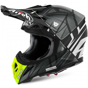 Casque Motocross Airoh Aviator 2.2 Styling White Matt
