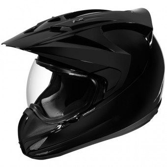 Casque Motocross ICON Variant Solid Black