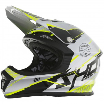 Casque Motocross SHOT Furious Infinity Metal Grey
