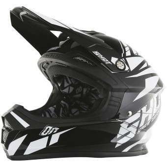 Casque Motocross SHOT Furious Squad Black