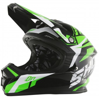 Casque Motocross SHOT Furious Squad Green