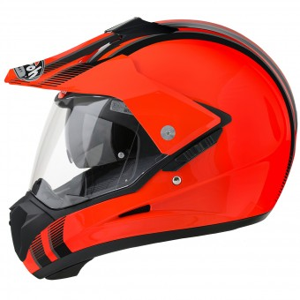 Casque Motocross Airoh S5 Orange