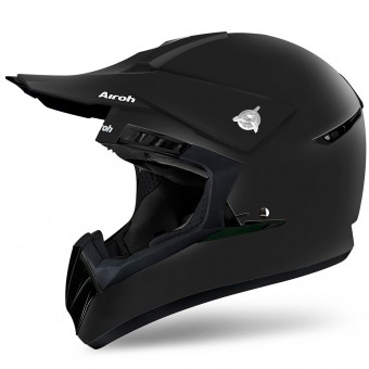 Casque Motocross Airoh Switch Black Matt