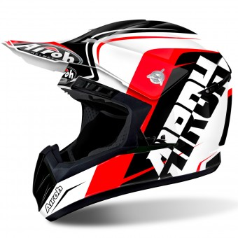 Casque Motocross Airoh Switch Sign Red