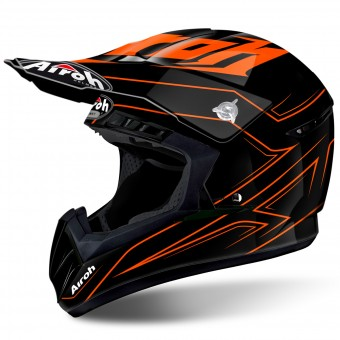 Casque Motocross Airoh Switch Spacer Orange