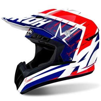 Casque Motocross Airoh Switch Startruck Red