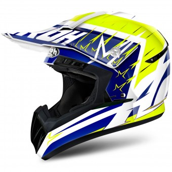 Casque Motocross Airoh Switch Startruck Yellow