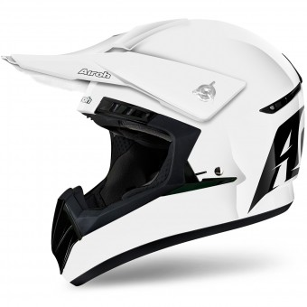 Casque Motocross Airoh Switch White