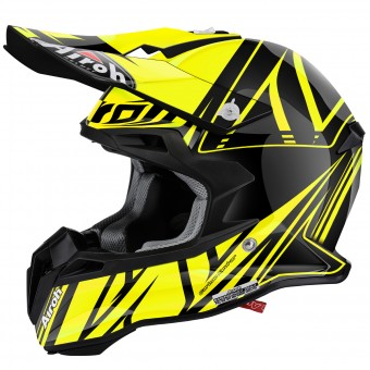 Casque Motocross Airoh Terminator 2.1 Cut Yellow